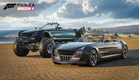 Final Fantasy 15's Regalia returns in Forza Horizon 4 | PCGamesN