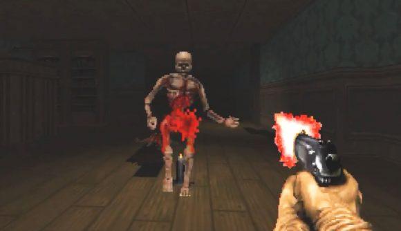 A Doom modder has reimagined Resident Evil 2 inside the classic FPS