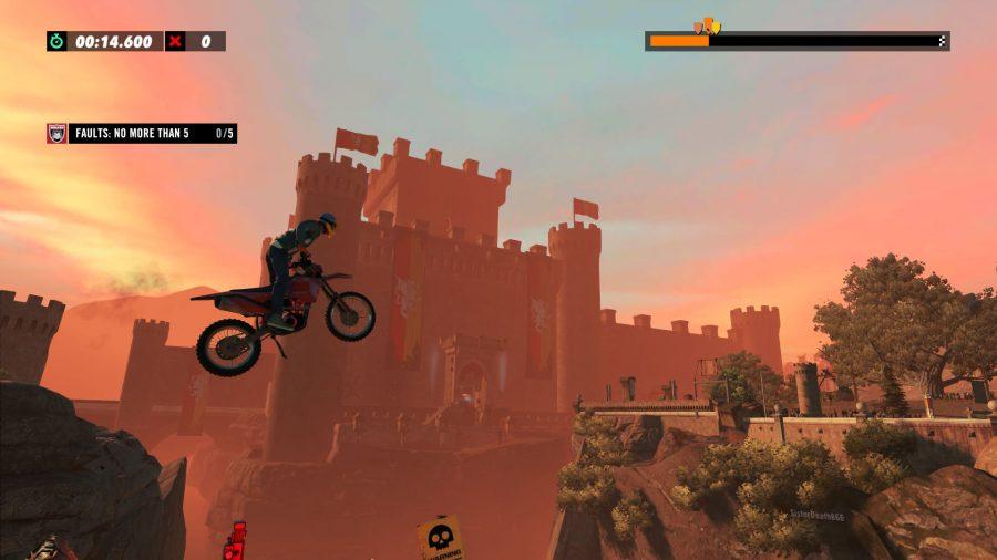 Trials Rising castle