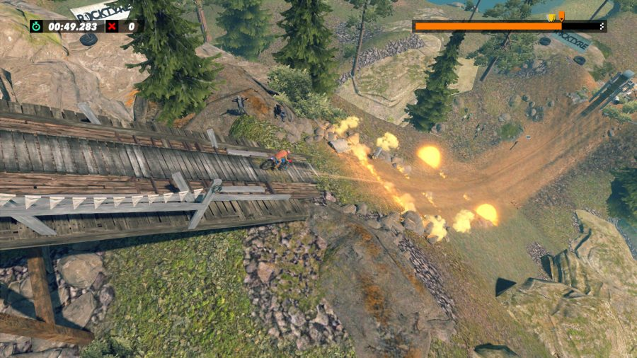 Trials Rising pyrotechnics