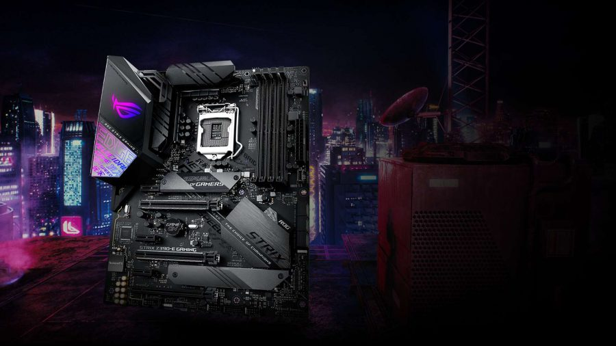 Asus ROG STRIX motherboard for Intel processors