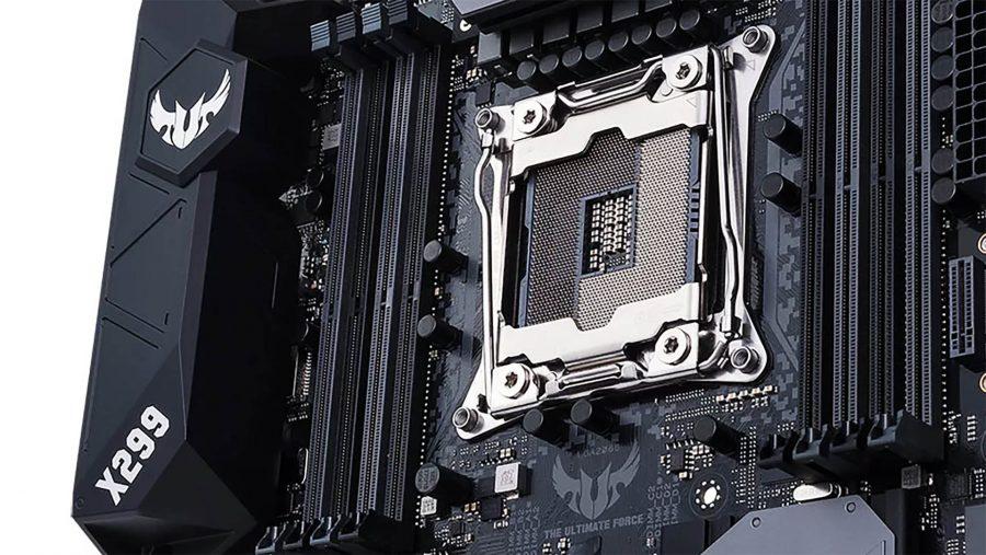 ASUS motherboard CPU socket