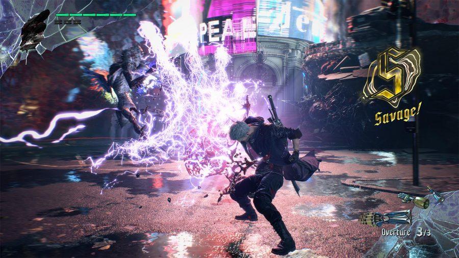 Devil May Cry Nero Devil Breaker finisher