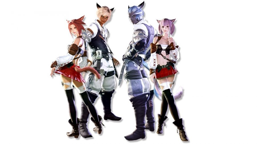 Why does Final Fantasy XIV still have gender-locked races in 2019