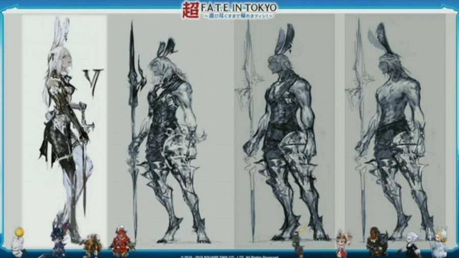 Final Fantasy XIV Viera male
