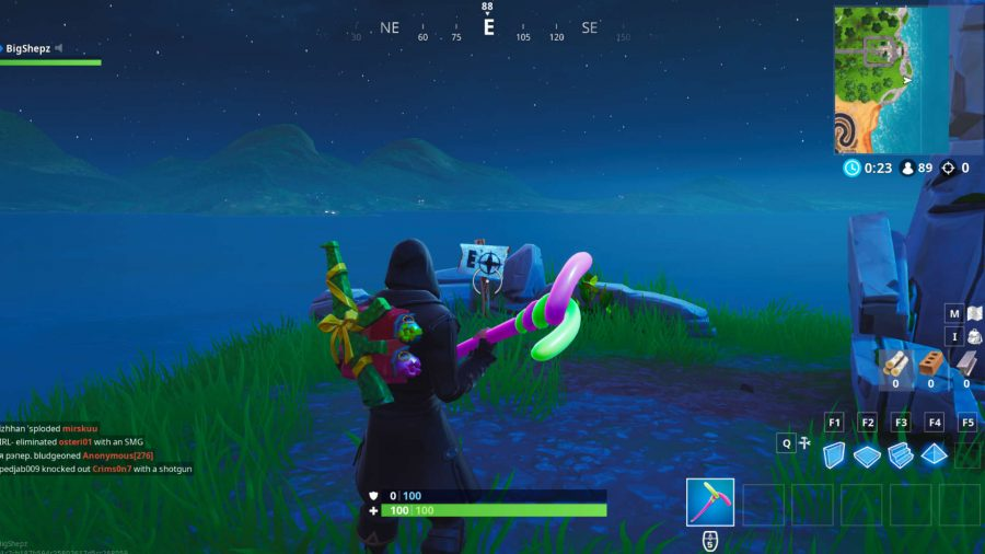 Fortnite east point location