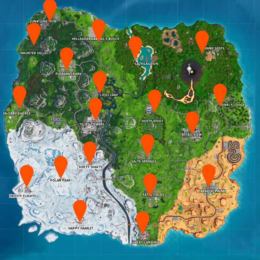 Fortnite reboot vans locations