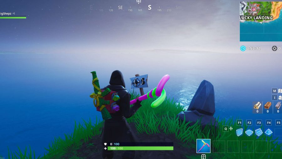 Fortnite south point location