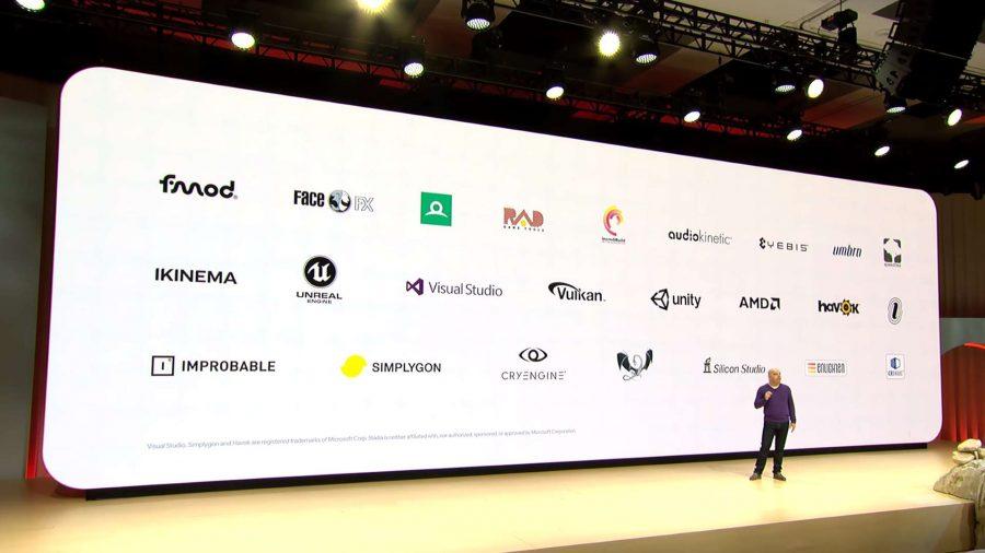 Google Stadia partners