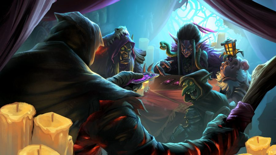 Hearthstone Rise of Shadows table
