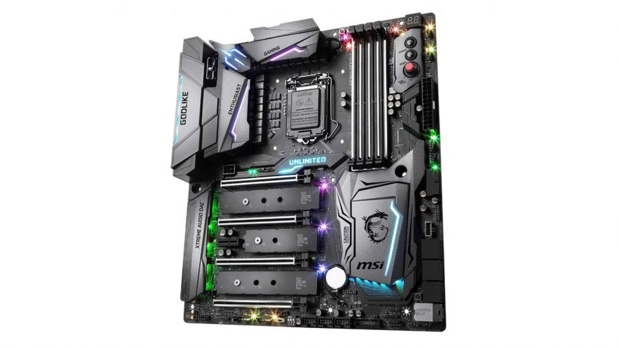 MSI Godlike motherboard for Intel processors