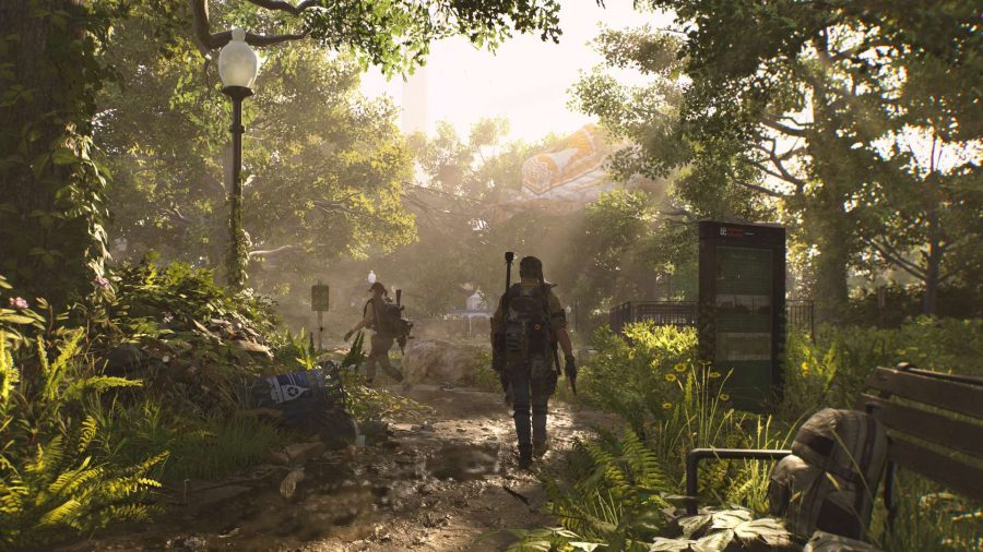 The Division 2 vegetation quality