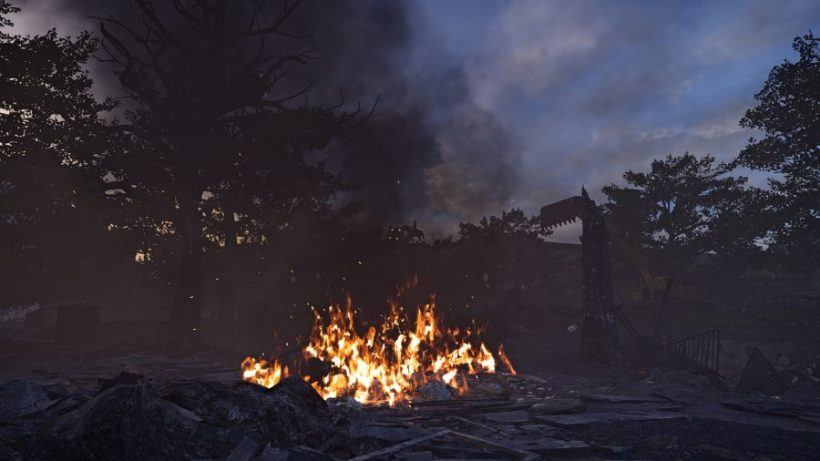 The division 2 fire