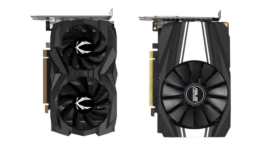 Zotac and Asus GTX 1660 Ti graphics cards