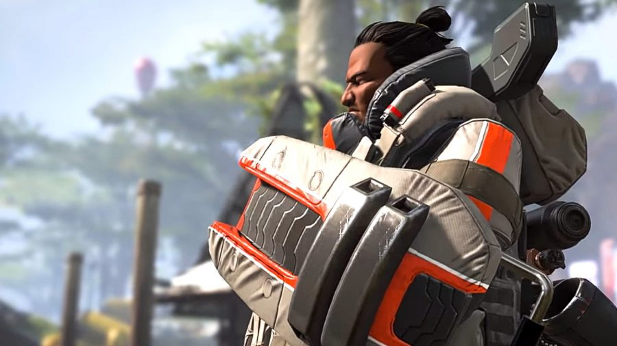 Gibraltar, one of the strongest legends in Apex Legends