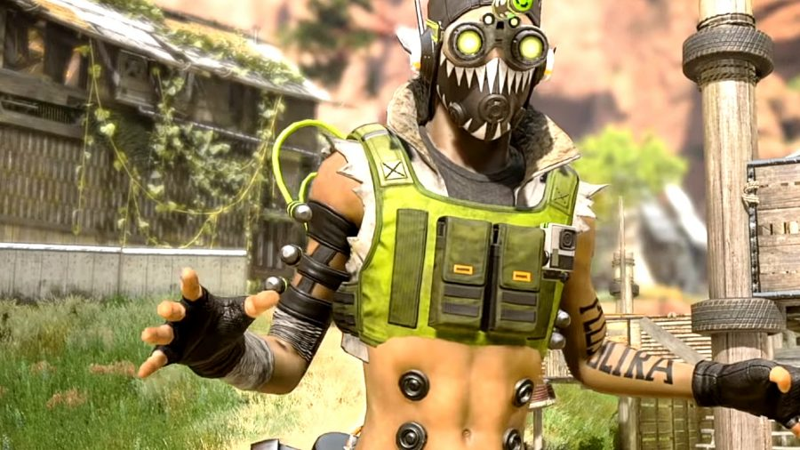 Octane, one of the best characters in Apex Legends
