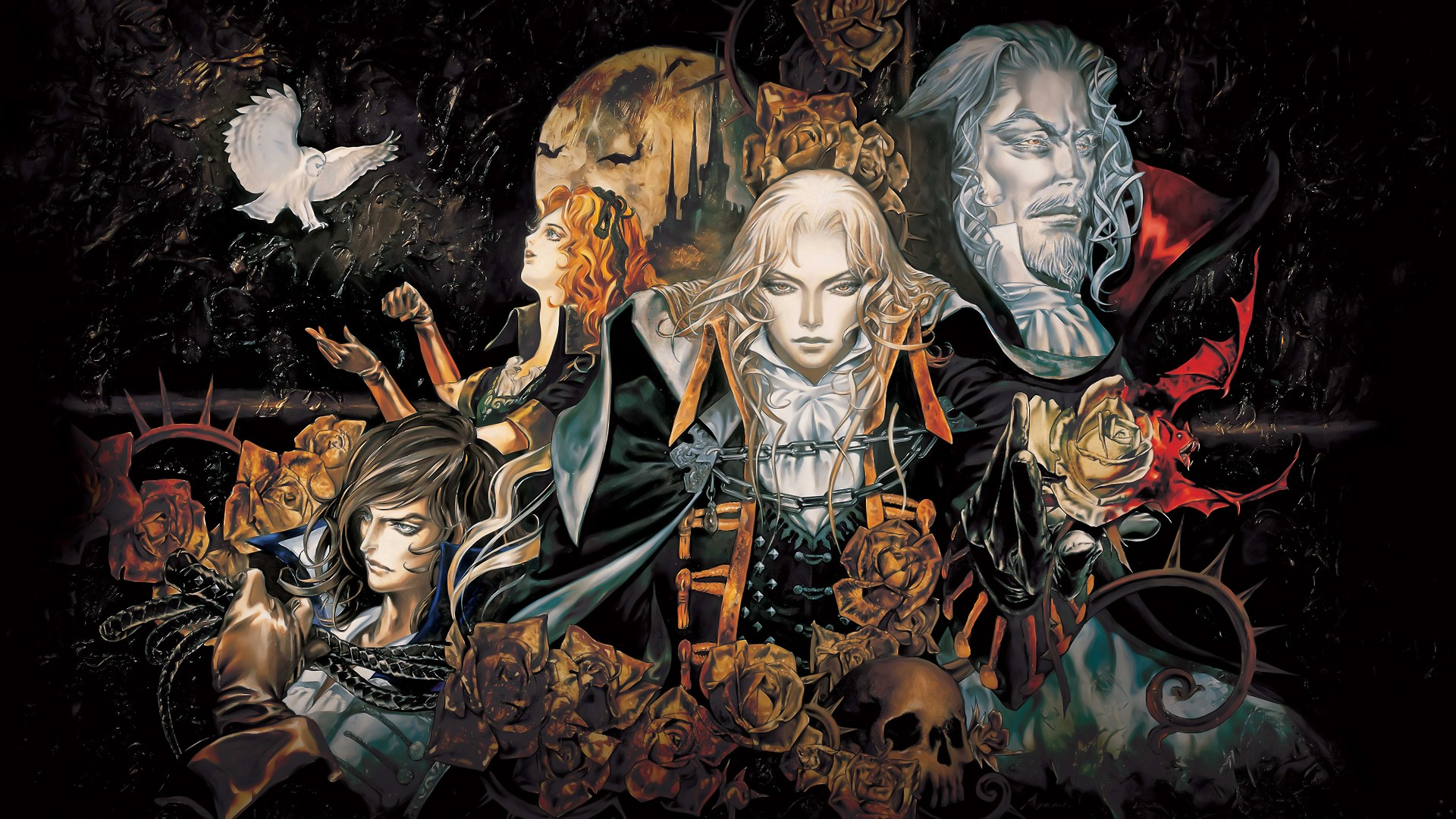 Eight classic Castlevania games return to PC today
