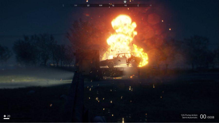 Generation Zero car explosion