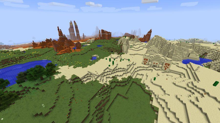 minecraft-seed-15-diamonds-from-spawn