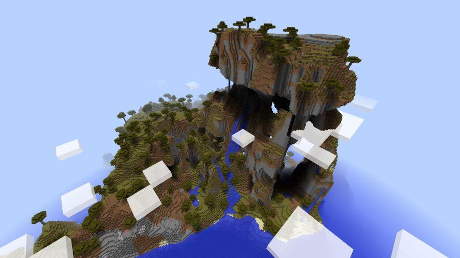 minecraft-seed-big-mountain