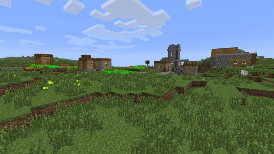 minecraft-seed-church-loot
