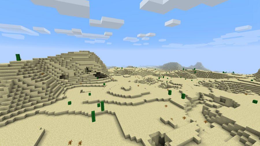 minecraft-seed-desert-savannah-landscape