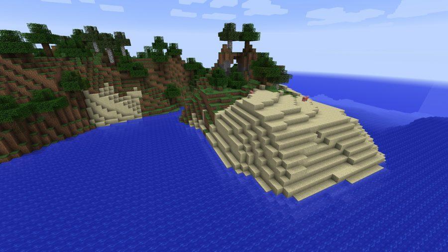 minecraft-seed-pig-island