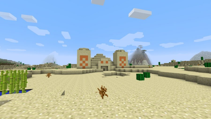 minecraft-seed-two-desert-temples