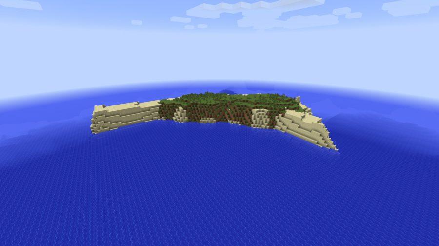 minecraft-seed-weird-island