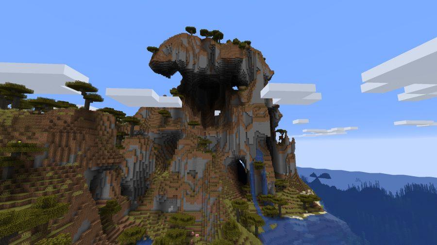 minecraft seeds mountain
