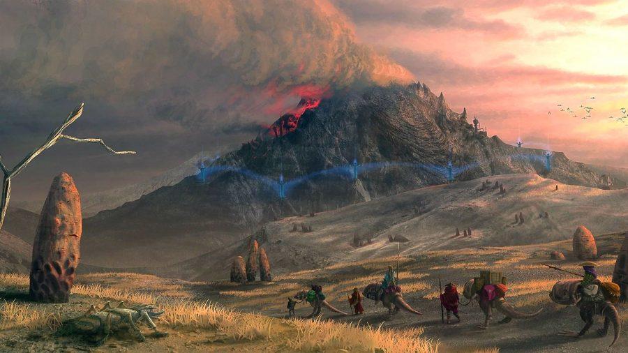 Morrowind Rebirth art