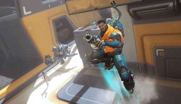 Overwatch baptiste leaping