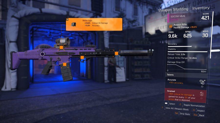 the divison 2 pvp builds assault rifle