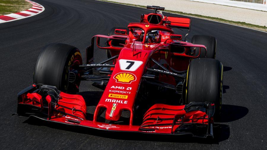 AMD Ferrari sponsorship