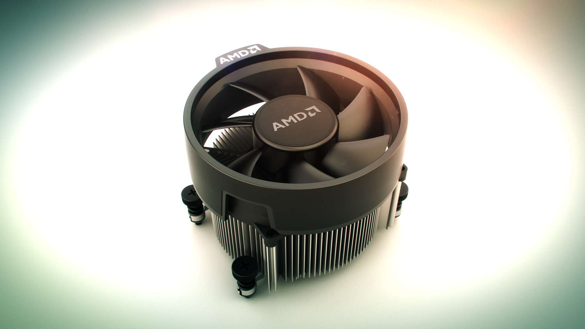 Amd S Wraith Spire Can Hit Liquid Cooled Cpu Chilling Performance With A 20 Fan Pcgamesn