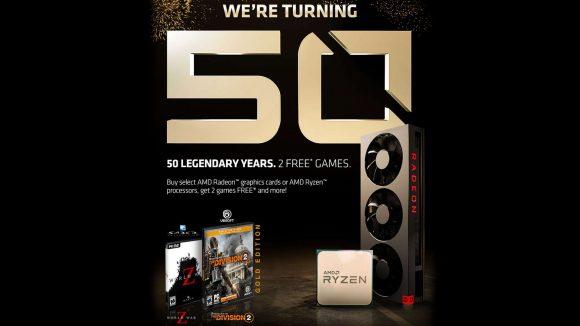 AMD turning 50 promo