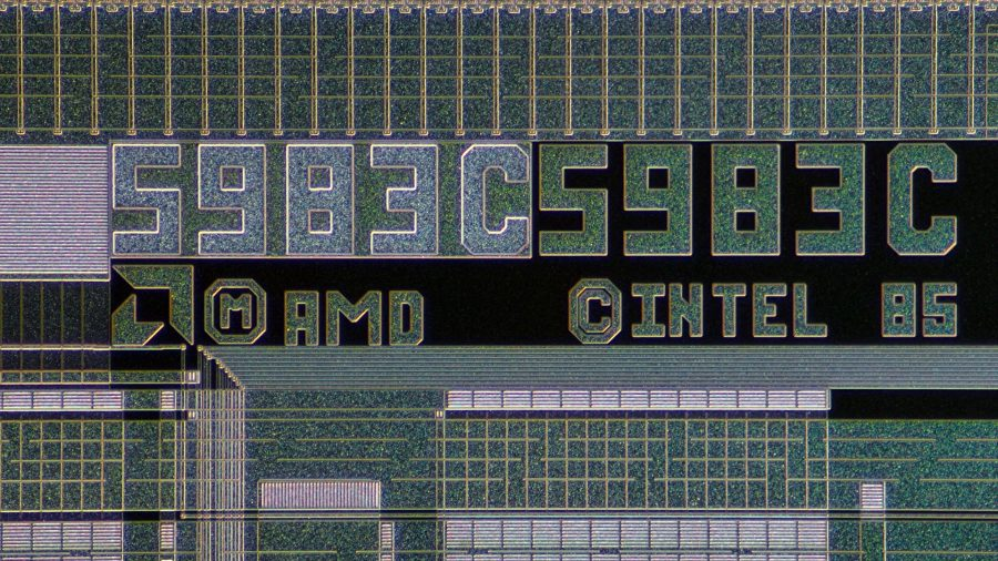 AMD 386 processor