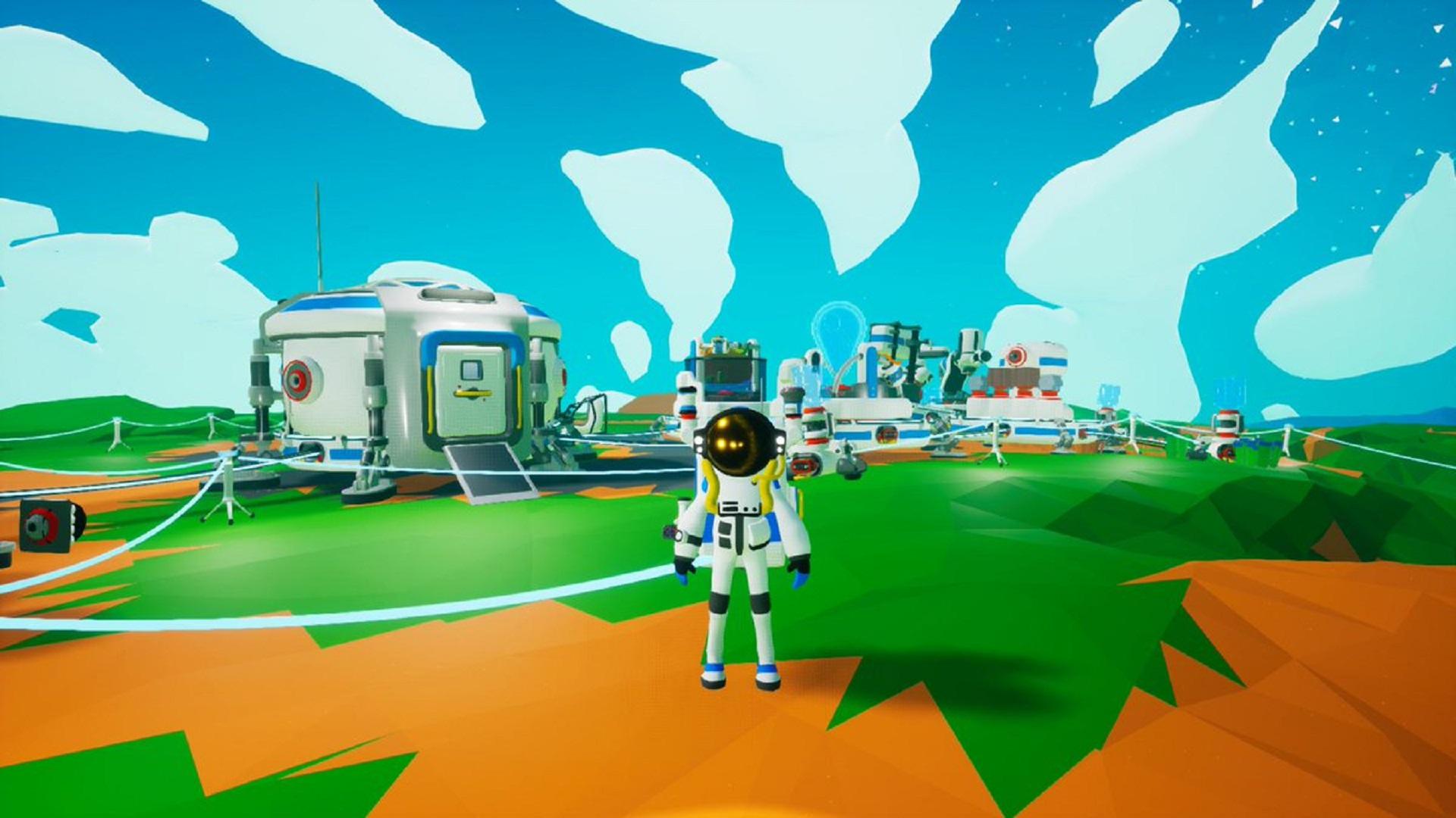 Survival game Astroneer swaps alien terror for homesickness
