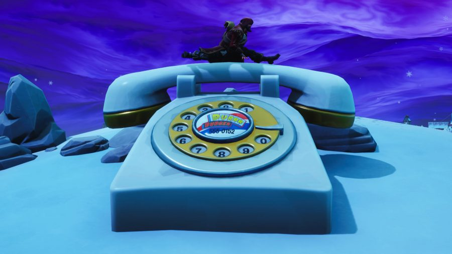 Fortnite Dial Durr Burger Number Fatal Fields Telephone