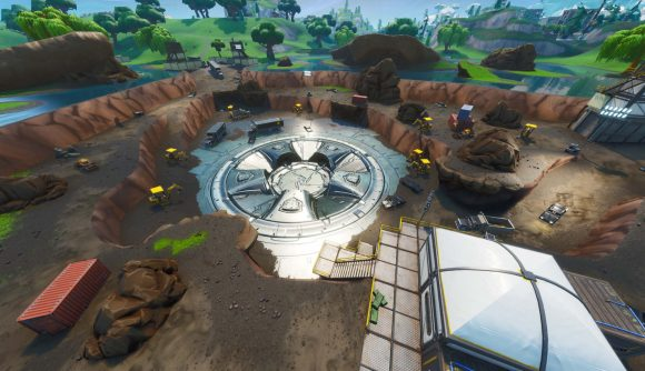 fortnite s volcano is erupting today and will devastate the landscape fortnite season 9 loot lake bunker - fortnite season 8 loot lake event time