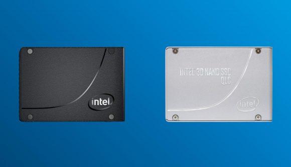Intel 3D NAND and Optane memory