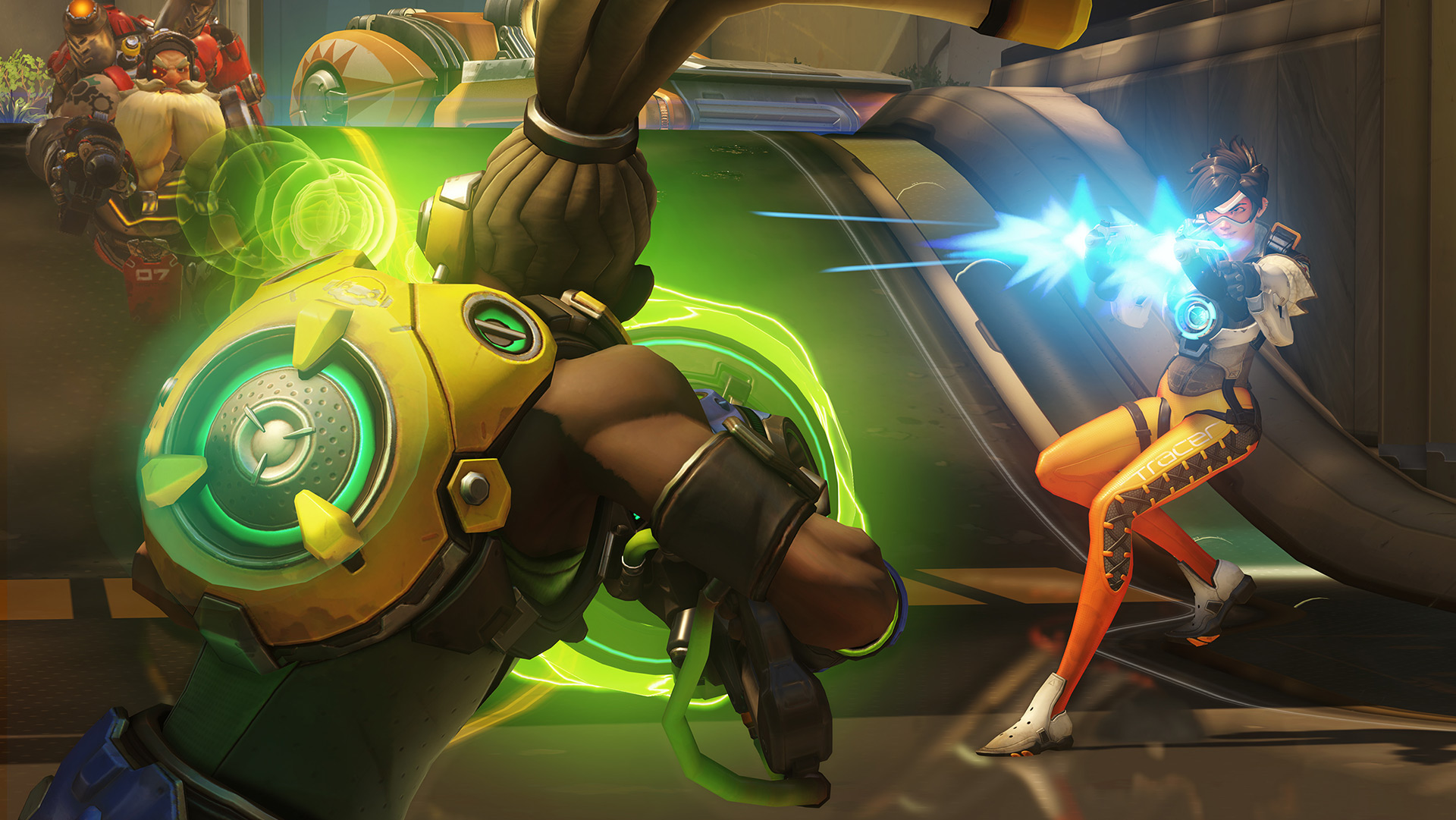 Overwatch Workshop creation adds Lucio Ball to Volleyball mode