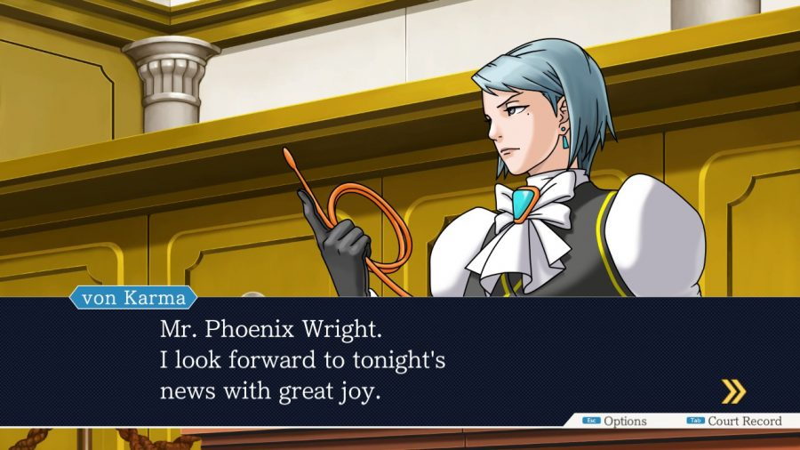 Phoenix Wright Ace Attorney von Karma