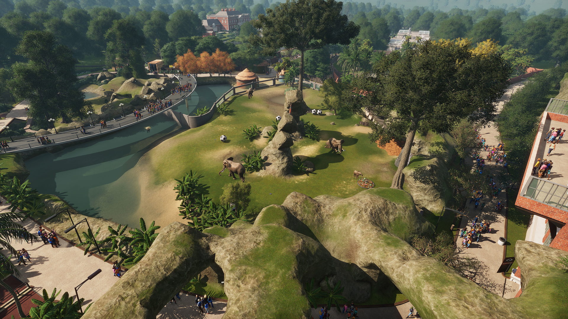 Planet Zoo will let you create your flawless fantasy zoo