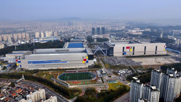 Samsung Hwaesong fab and EUV site