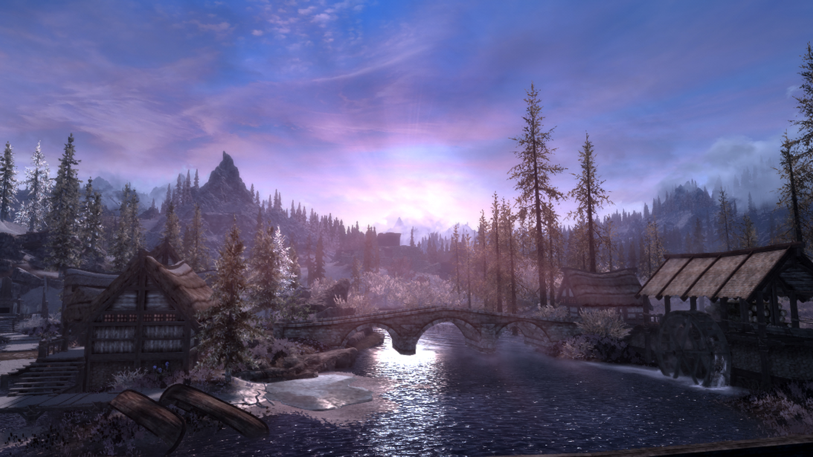 This Skyrim mod overhauls the weather with zero FPS loss