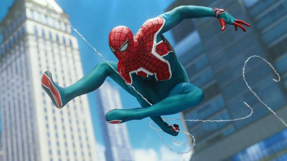 Image of Sony's PS4-exclusive Spider Man