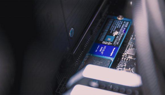 WD Blue SN500 SSD motherboard