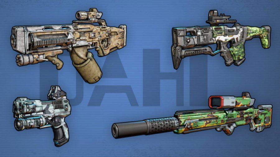 borderlands 3 dahl weapons