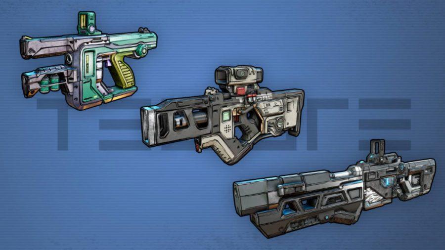 borderlands 3 tediore weapons